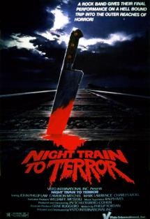 Night Train to Terror poster art